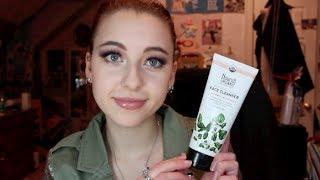 Lathering Cleanser I Actually LIKE?! : Nourish Organics Moisturizing Cream Cleanser