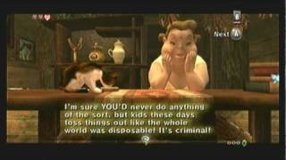Legend Of Zelda Twilight Princess Walkthrough 01 2 6 Ordon Village Sera S Cat Youtube