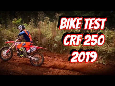 BIKE TEST CRF250R 2019 (Leandro SIlva 14)