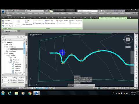 auto cad road by layaut in class