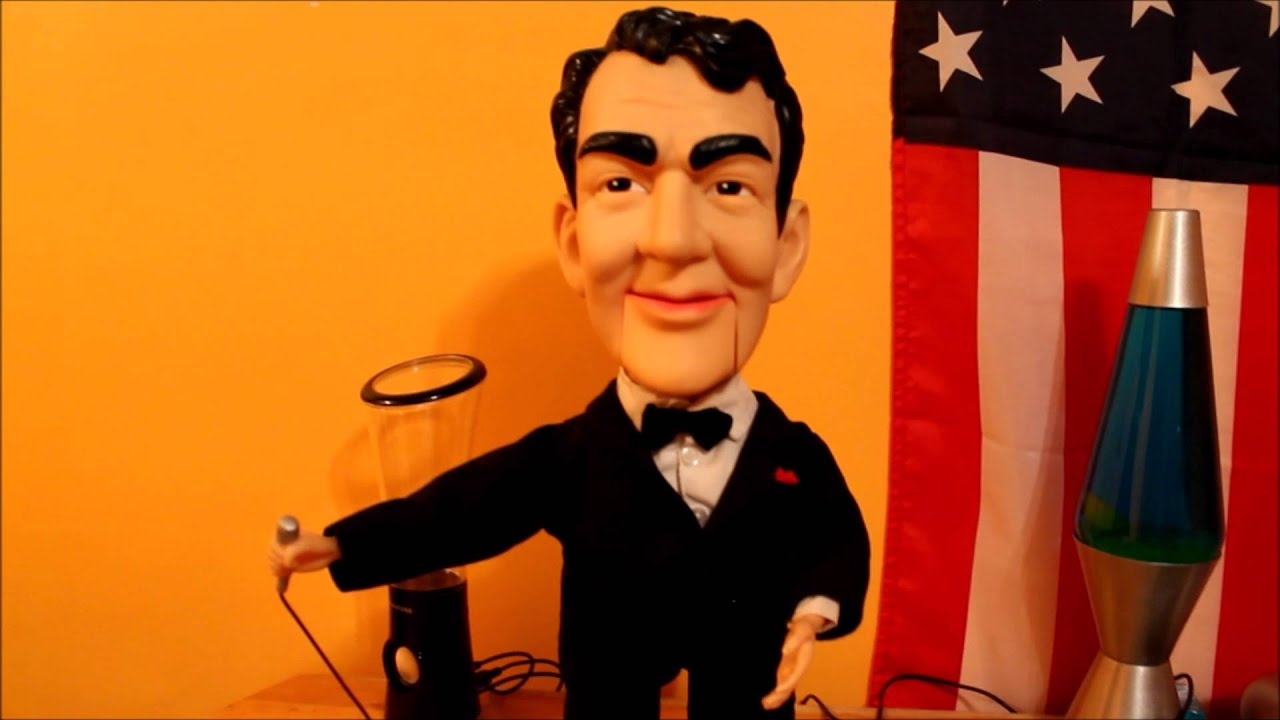 Gemmy Dean Martin Animated Figure Youtube