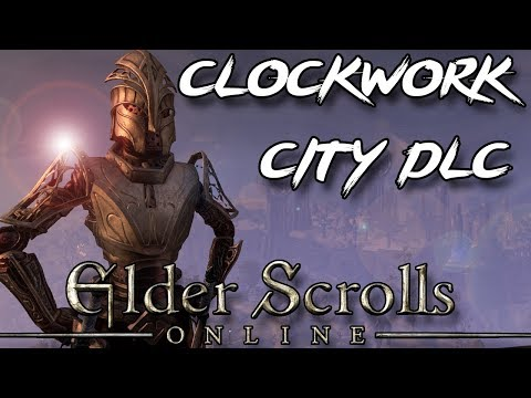 ESO - CLOCKWORK CITY SLAUGHTER (Elder Scrolls Online Clockwork City DLC Part I)