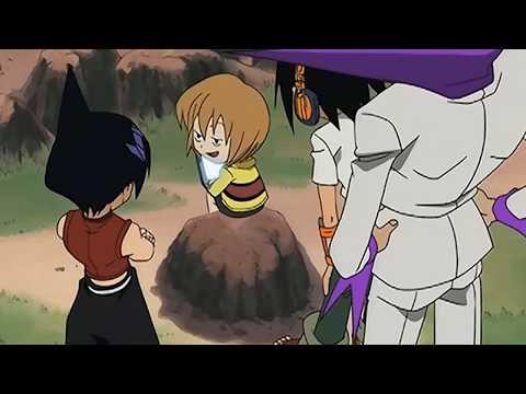 смешные моменты из аниме 'Шаман Кинг' #5