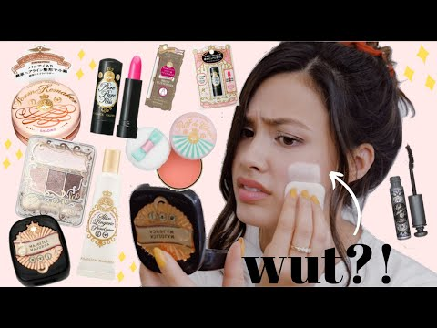 Shiseido Majolica Majorca One Brand First Impressions | Full Face Of Japanese Makeup!