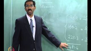 Mod-04 Lec-09 Analysis of Project Viability Time value of money