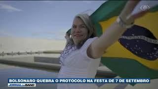 Bolsonaro Quebra Protocolo No Desfile De 7 De Setembro