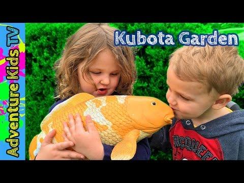 Adventure Kids TV Visit Kubota Garden in Renton WA - Amazing Japanese Garden Seattle Washington