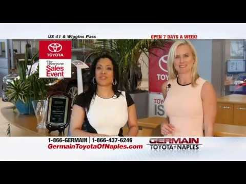 One Low $99 Payment At Germain Toyota Of Naples.   YouTube