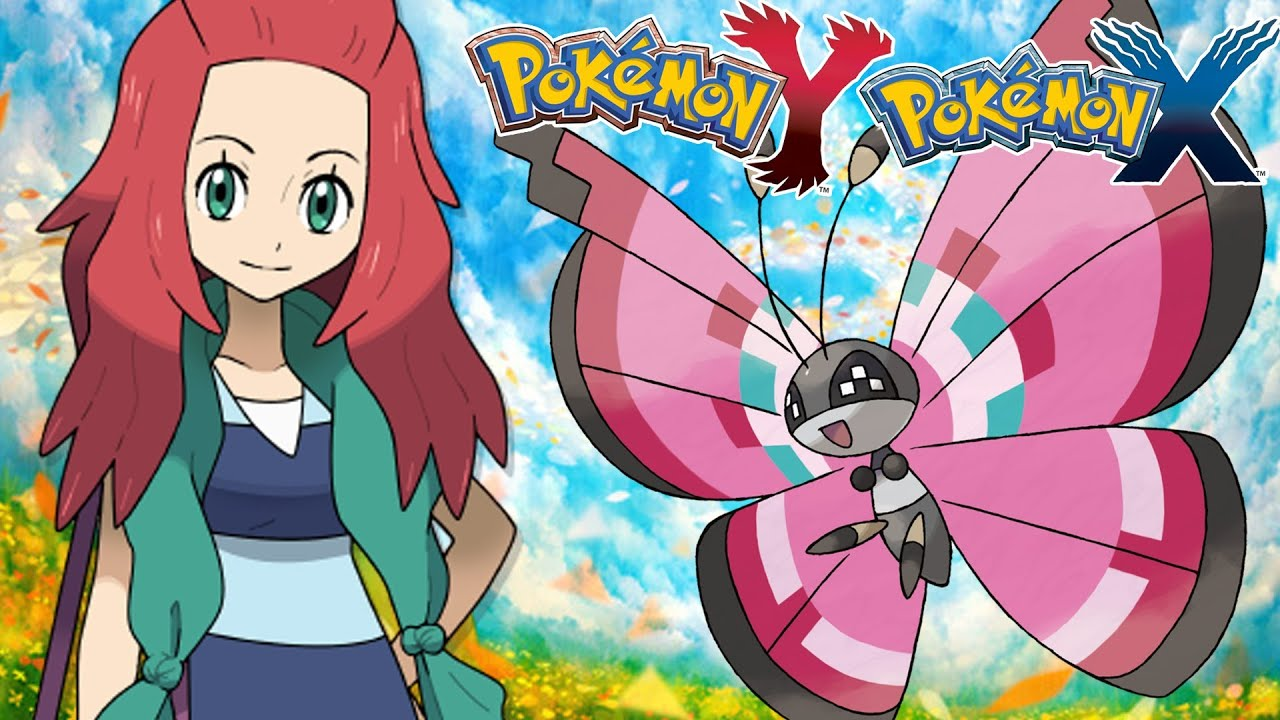 Pokemon X And Y Vivillon