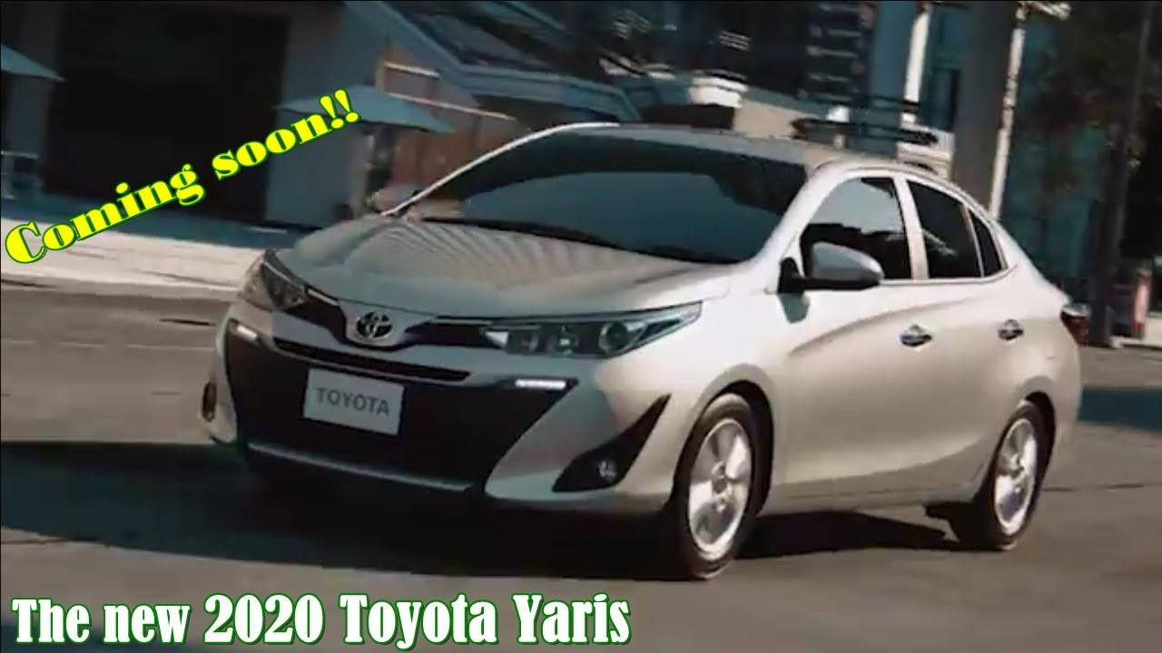 The All New 2020 Toyota Yaris Vios Youtube