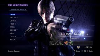Resident Evil 6 Mercenaries (Urban Chaos With Leon)