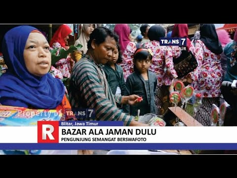 TRANS7 JAWA TIMUR - Bazar Jaman Dulu ala Kota Blitar
