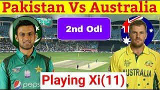 Pakistan Cricket Team Conform Playing Xi (11) Against Australia 2nd Odi 2019 | Pak Vs Aus thumbnail