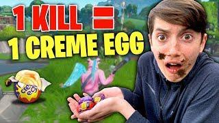 1 KILL = 1 CREME EGG! (OVER 5000 CALORIES!) -The Creme Egg Challenge