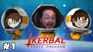 LITERALLY NO CLUE | Kerbal Space Program: Career Mode | Ep. 1