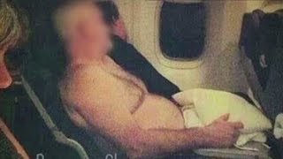 Seriously, who does this on a flight?!