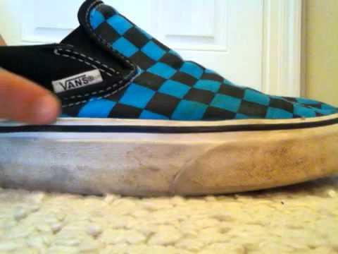 37b9966cf10e Vans Classic Slip On Shoe Review - YouTube