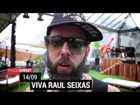 Palco Sunset - Viva Raul Seixas