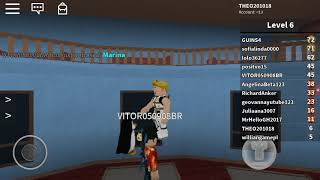 PLAYING FIRST ROBLOX VIDEO MARDER