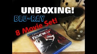 Friday The 13th 8 movie collection | blu-ray | Unboxing