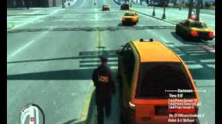 GTA IV - Police Pursuit Mod - Traffic stop