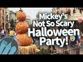Mickey's Not So Scary Halloween Party 2017 -- EVERYTHING You Need to Know to Have a Blast!