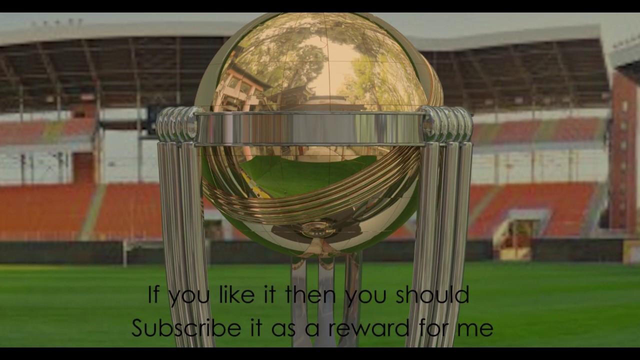 ICC Cricket World Cup Trophy 2019 3D Model (Part 02)