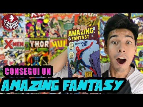 Mi primer Amazing Fantasy #15   FANTÁSTICO