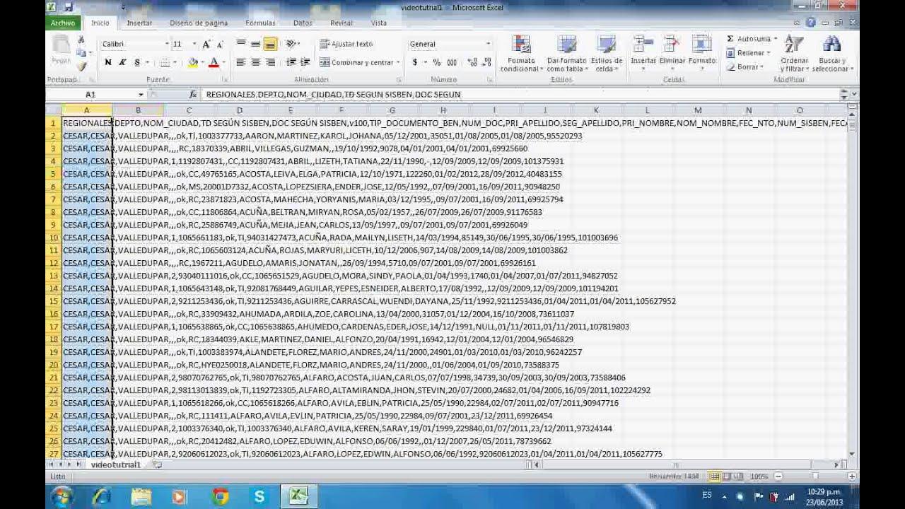 trucos de excel convertir archivos texto a excel