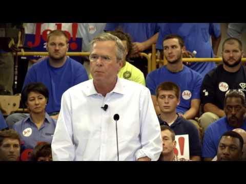 "Jeb Bush 2016 - ""Jobs"""