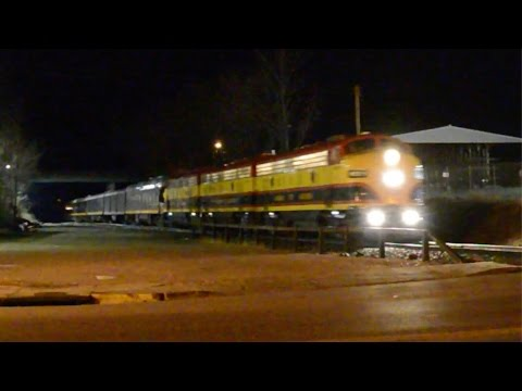 Kansas City Southern Holiday Train Blows Though Blue Springs