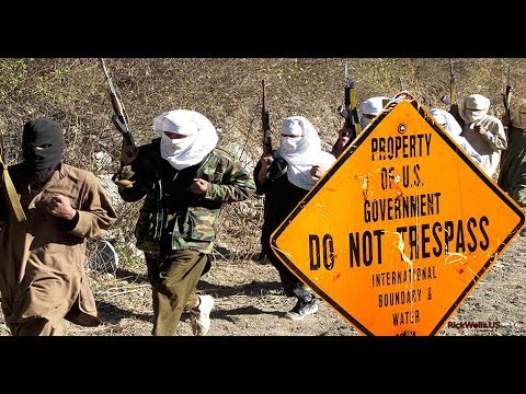 USA VET @ USA Mexico Border When Islamic Terrorists get suit