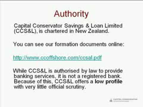 Capital Conservator Offshore Banking
