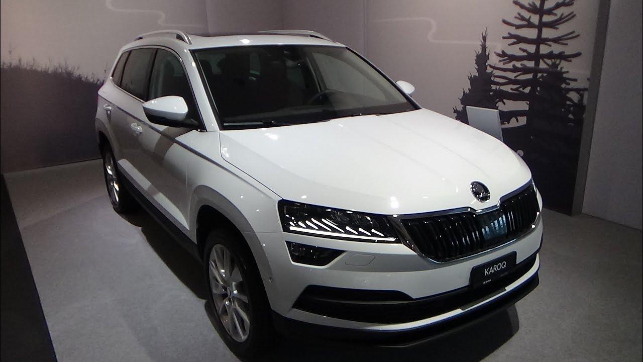 2019 skoda karoq 1 5 tsi style exterior and interior auto z rich car show 2018 youtube