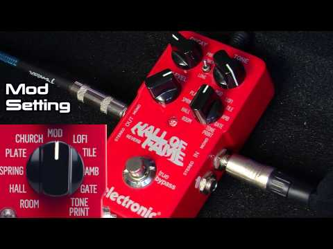 TC Electronic Hall of Fame Reverb Demo