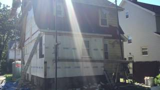 NJ Siding Removal Replacement & Re Siding Contractor 973 487 3704 Vinyl Aluminum Fiber Cement profes