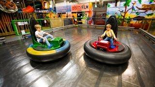 Crazy Bumber Cars at Busfabriken Indoor Playground