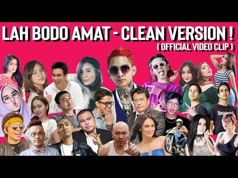 "Young Lex - Lah Bodo Amat ""CLEAN VERSION"" Ft. Sexy Goath & Italiani (Official Video Clip)"