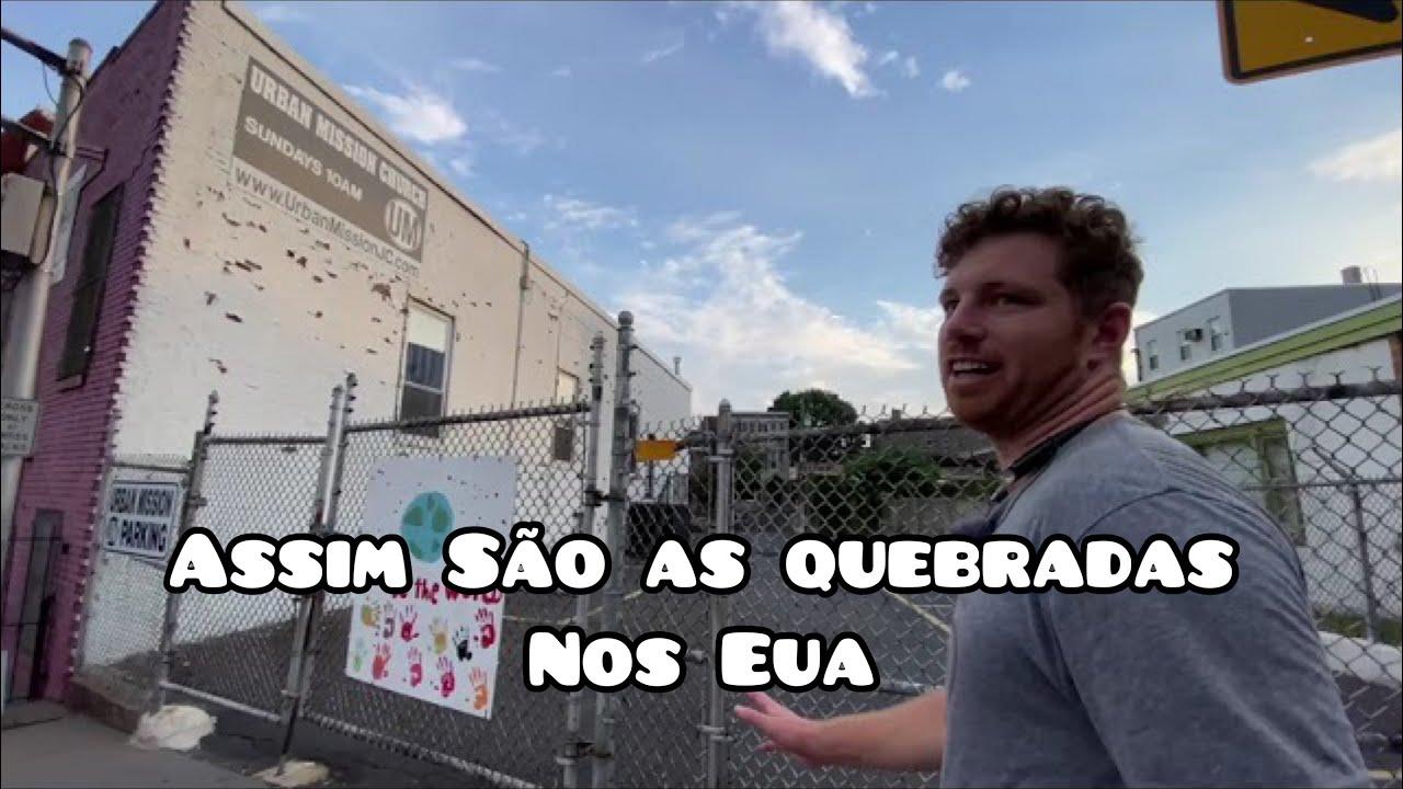 ANDANDO Pelo BAIRRO PERIGOSO até o BAIRRO dos RICOS nos EUA