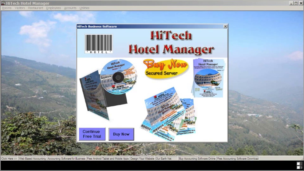 HiTech Hotel Management Software Release 2017