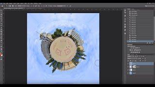как сделать сферическую панораму (урок по фотошопу)