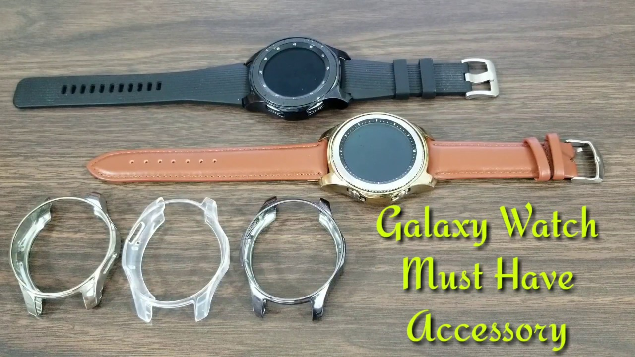 9e585f9a4397c Galaxy Watch/Gear S3 TPU Protective Bumper Shell Must Have Accessory ...