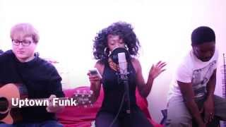 Uptown Funk Mark Ronson ft Bruno Mars - Ebonie G cover @Studio Ebz