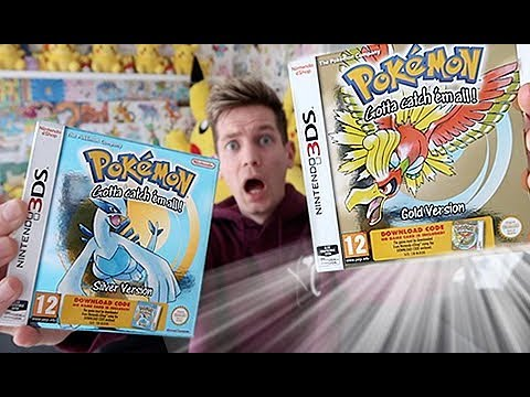 *ACTUAL BOXED* 3DS Pokemon Gold & Silver Opening