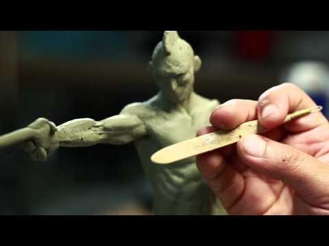 Sculpture Techniques - How to Sculpt a Humanoid Maquette with Jordu Schell - PREVIEW
