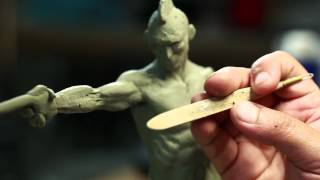 Sculpture Techniques - How to Sculpt a Humanoid Maquette with Jordu Schell - PREVIEW