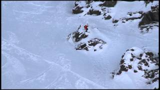 Charley Ager - Backcountry Slopestyle run 2 - Swatch Skiers Cup 2013