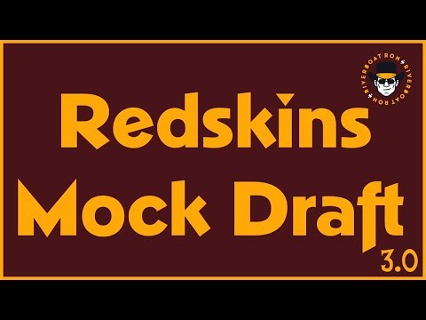 Redskins Mock Draft 3.0 | Post Free Agency - Without Trades | Rated Redskins Radio