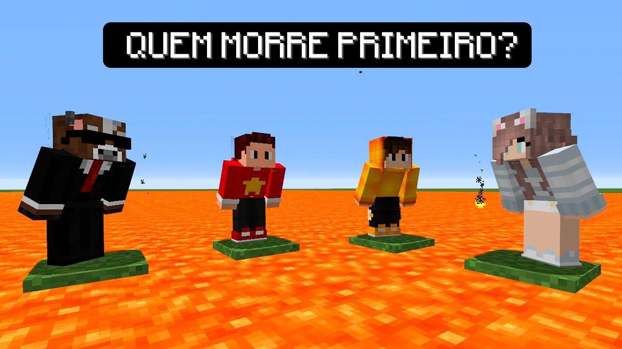 Minecraft: O ÚLTIMO QUE FICAR VIVO GANHA !