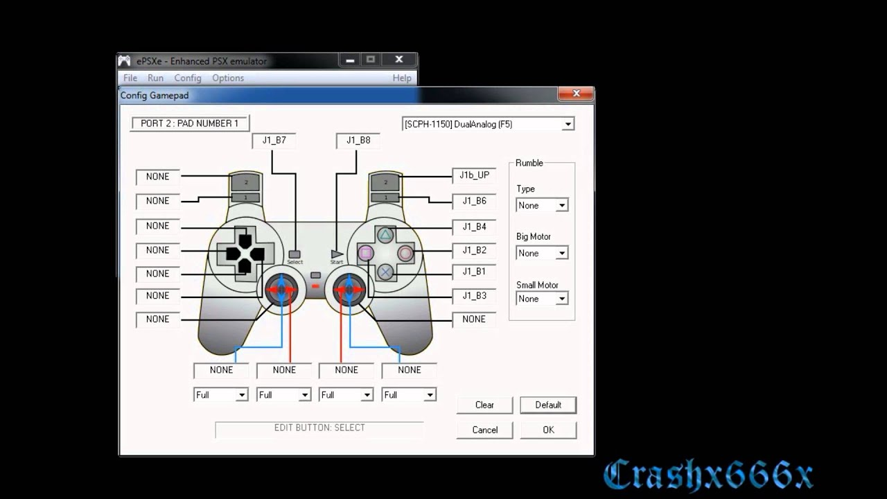 How To Configure A Controller For Epsxe 17 Youtube Gamecube Wiring Diagram Right Stick